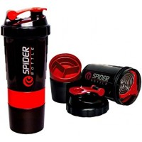 Spider Compartment Shaker Bottle (500 ML)