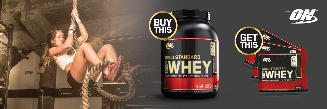 ON Gold Standard Whey Promotion