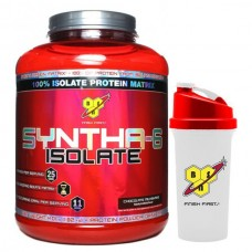 BSN Syntha-6 Isolate (4 LBS) FREE BSN Shaker