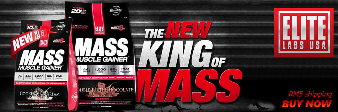 Elite Labs Mass Muscle Gainer 20LBS