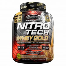 MuscleTech Nitro-Tech 100% Whey Gold (5.5 LBS)