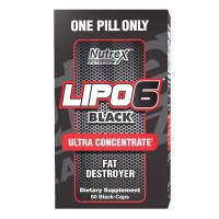 Nutrex Lipo-6 Black Ultra Concentrate (60 CAPSULES)