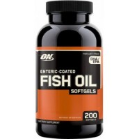 Optimum Nutrition Fish Oil Softgels (200 SOFTGELS) EXP 7/17