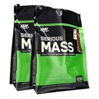 Optimum Nutrition Serious Mass (24 LBS) Promo Set RM5 Shipping